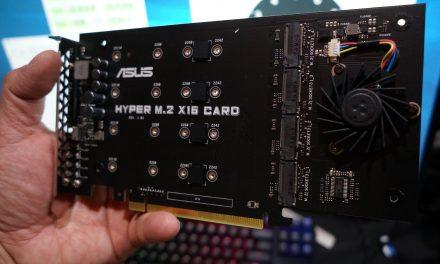 ASUS X299 Enables Intel Virtual RAID on CPU – RAID-0 up to 20 SSDs!