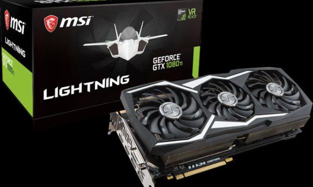 Lightning strikes again, MSI's new GTX 1080 Ti LIGHTNING Z