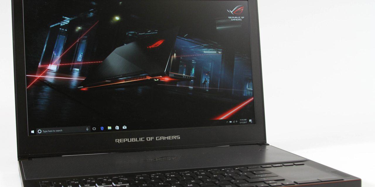 ASUS ROG Zephyrus GX501 GTX 1080 Max-Q Gaming Notebook