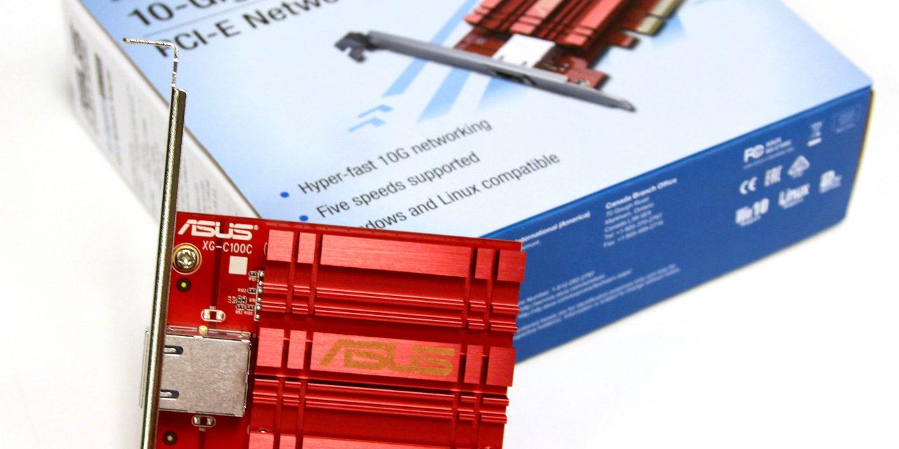 ASUS XG-C100C NIC – 10 Gigabit Ethernet for the Masses