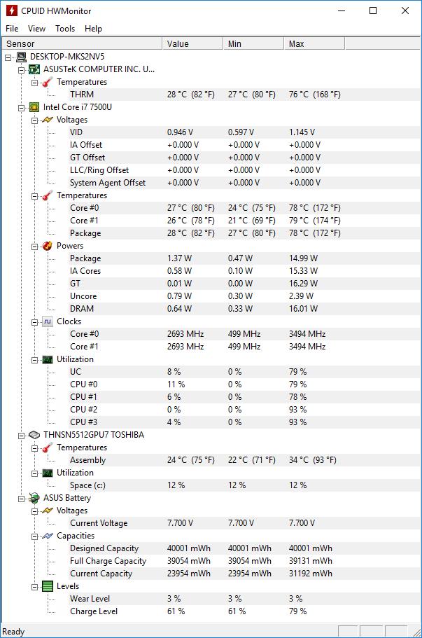 ASUS ZenBook 3 UX390UA Laptop Review - PC Perspective