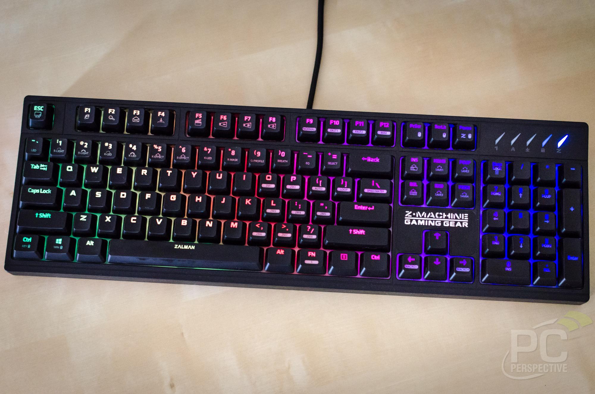 ZALMAN ZM-K900M RGB Mechanical Gaming Keyboard Review