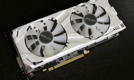 Quick Look: Galax GTX 1060 EXOC White 6GB