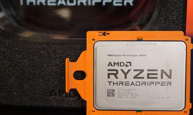 The AMD Ryzen Threadripper 1950X and 1920X Review