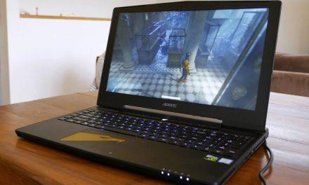 The overclocked laptop, Gigabyte's Aorus X5