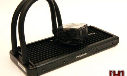 The Enermax LIQMAX II 240 shunts away 250W of TDP