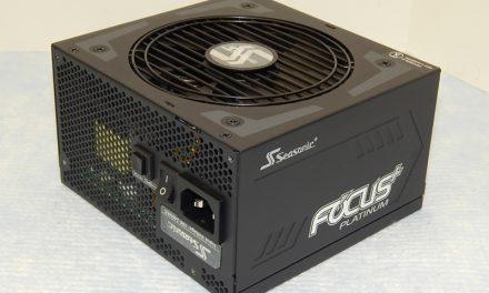 Seasonic FOCUS Plus Platinum 550W PSU Review