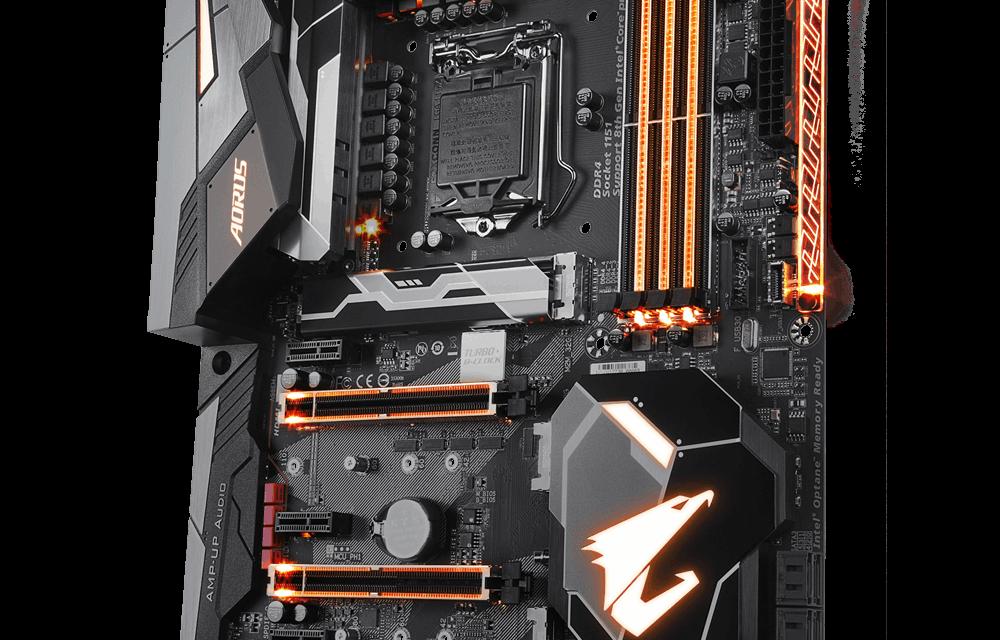 Gigabyte Teases Z370 AORUS Gaming 7 Motherboard