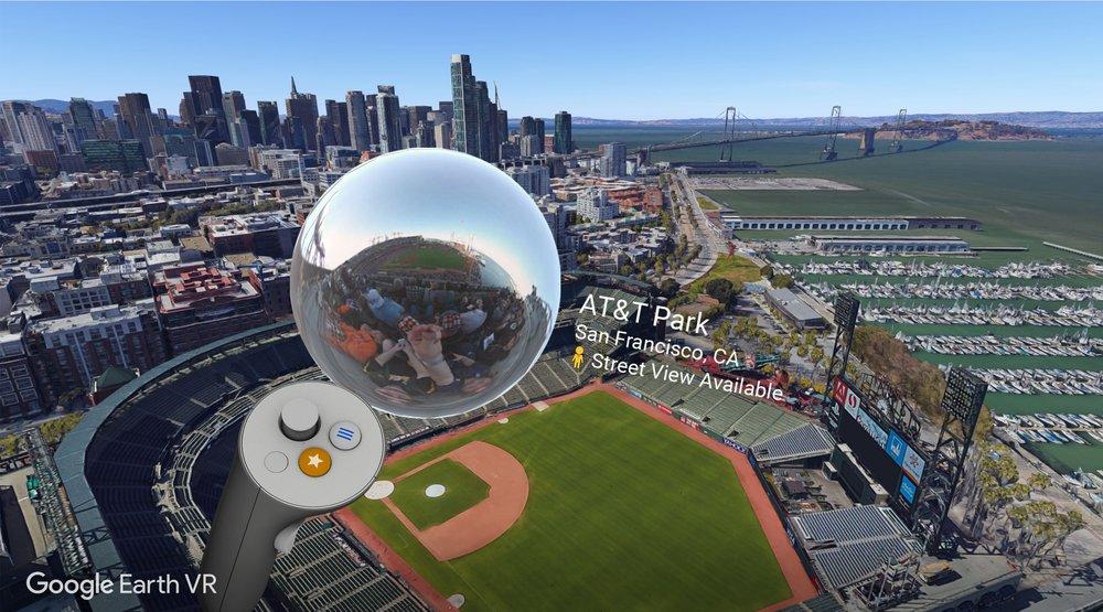 Street View Added to Google Earth VR Desktop