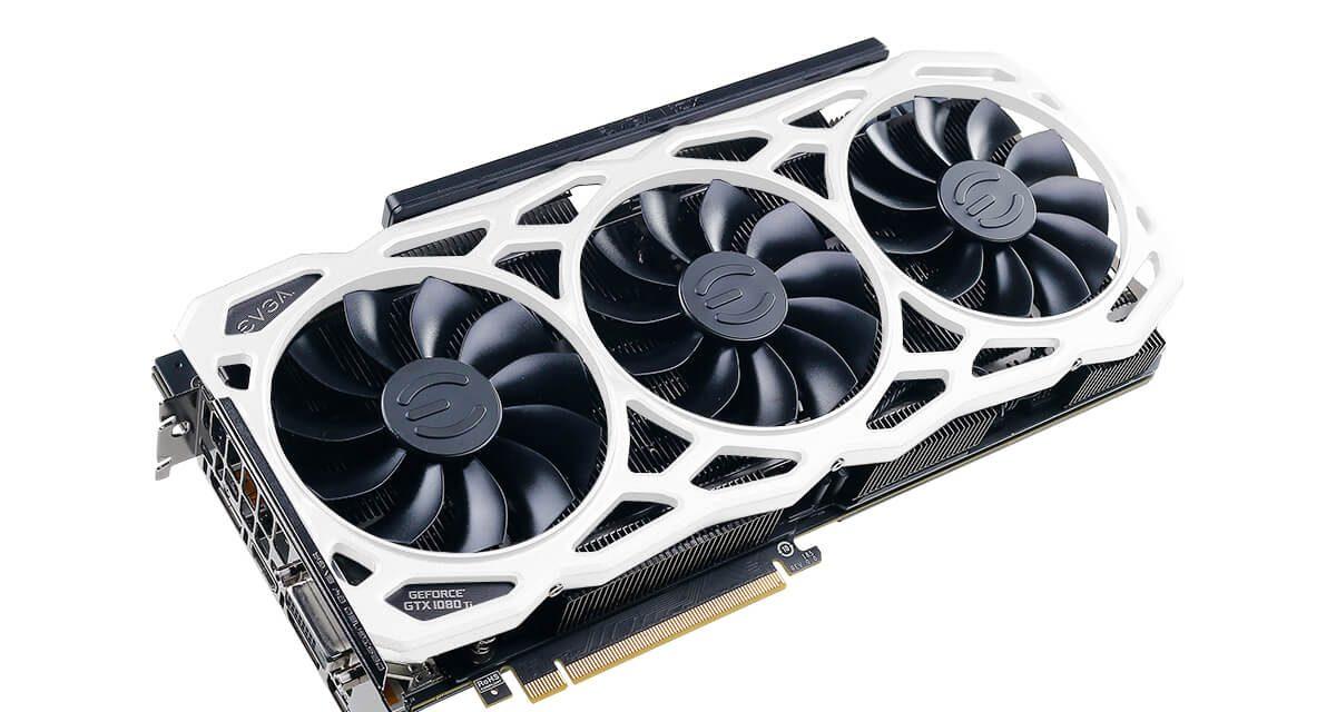 Extra memory!  The EVGA GeForce GTX 1080 Ti FTW3 ELITE