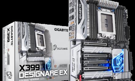 GIGABYTE's X399 DESIGNARE EX