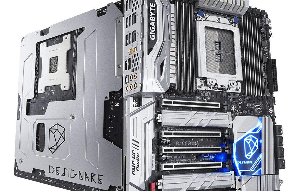 Gigabyte Designs New X399 Designare EX Motherboard