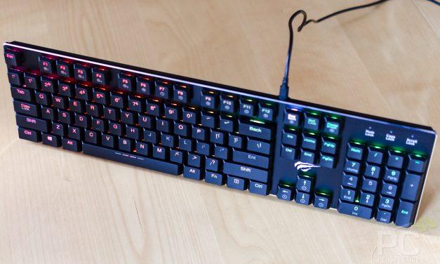 HAVIT HV-KB395L Ultra-Thin RGB Mechanical Keyboard Review