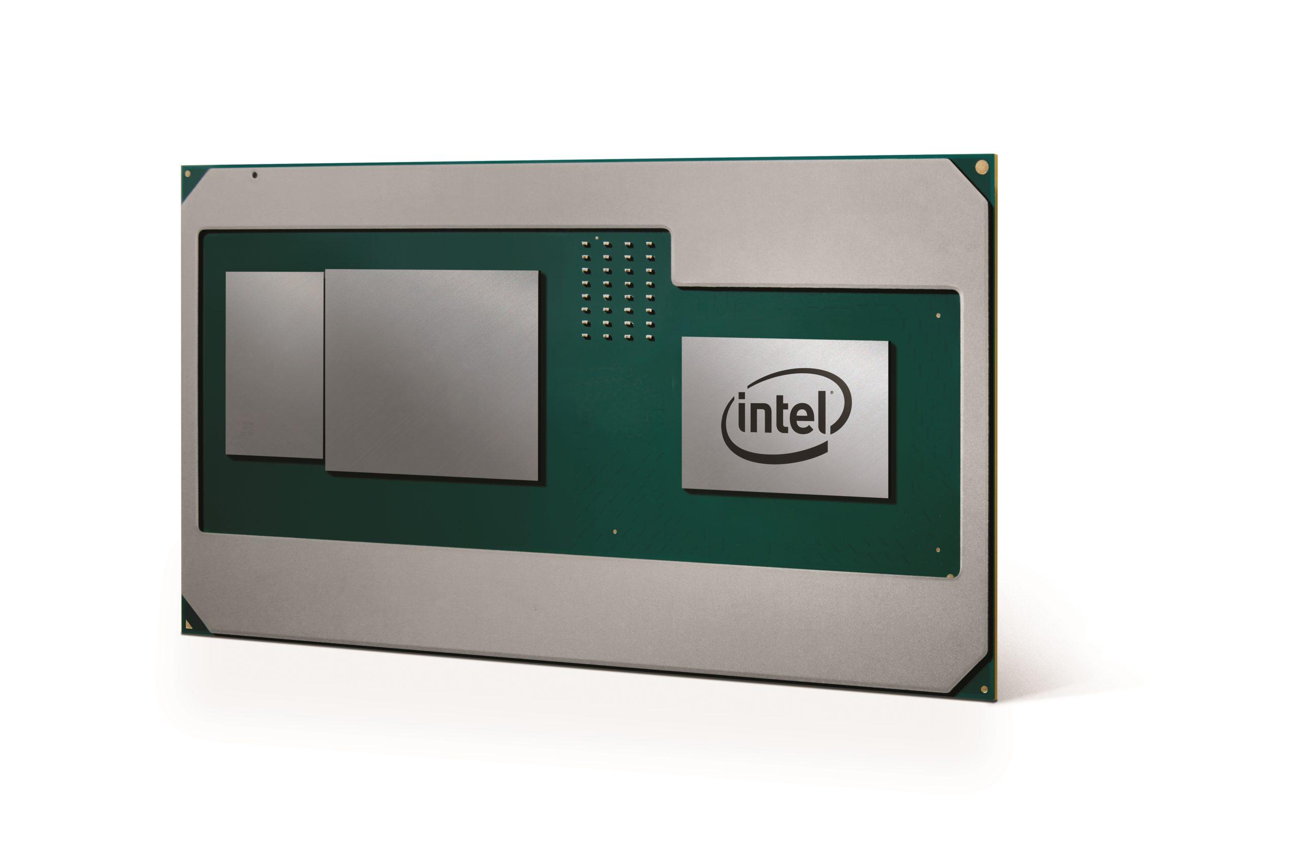 Intel Announces New CPUs Integrating AMD Radeon Graphics