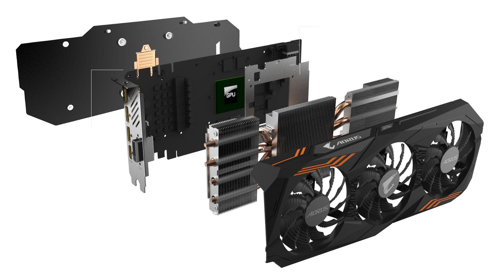 Gigabyte Launches GTX 1070 Ti Aorus