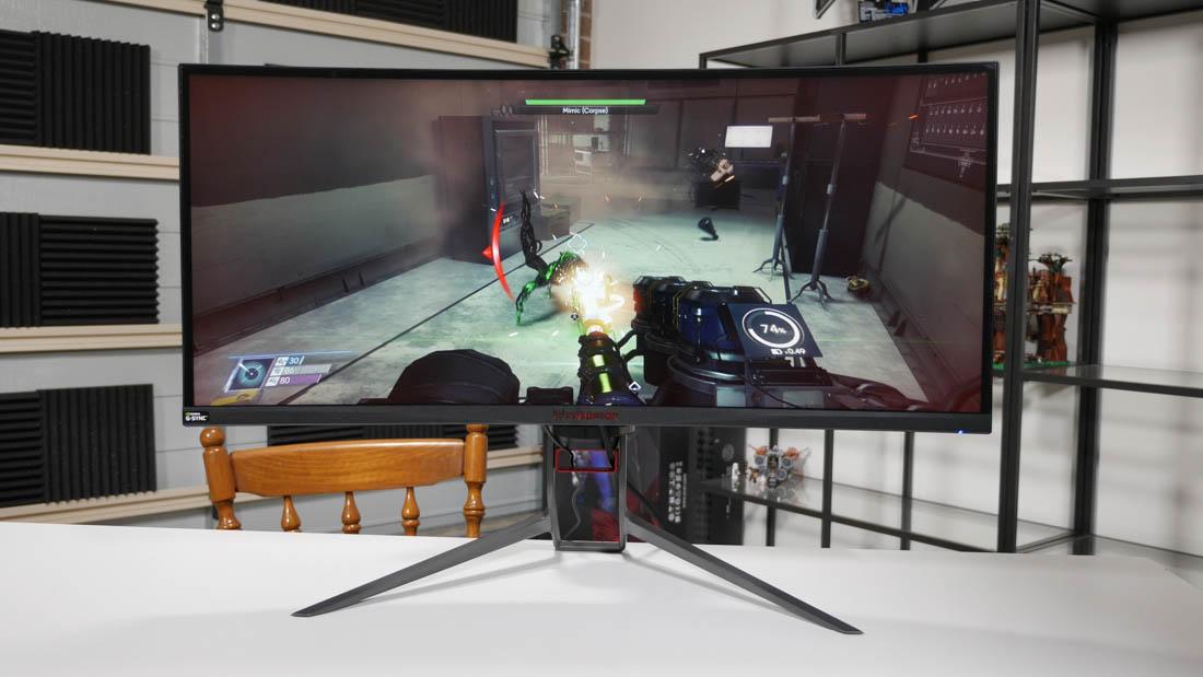 Acer's slightly upgraded Predator X34P display
