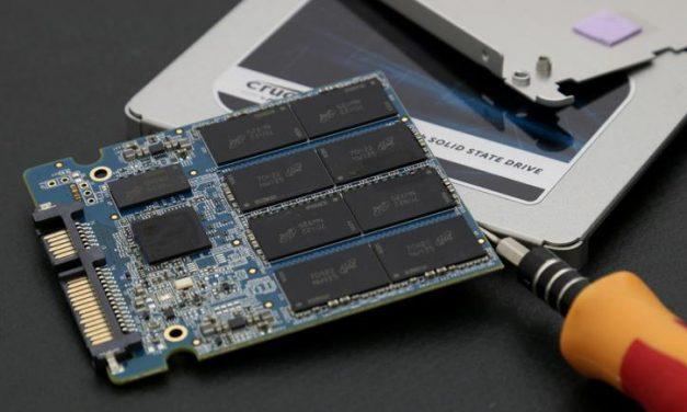 Crucial's inexpensive terabyte, meet the MX500