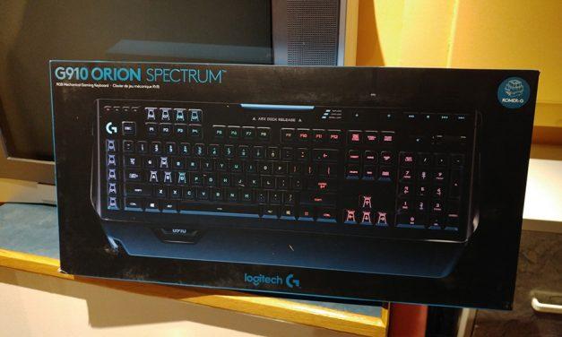 """""""Just"""" Delivered: Logitech G910 Orion Spectrum"""