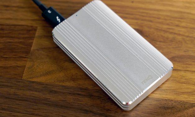 Quick Look: TEKQ Rapide 480 GB Thunderbolt 3 SSD