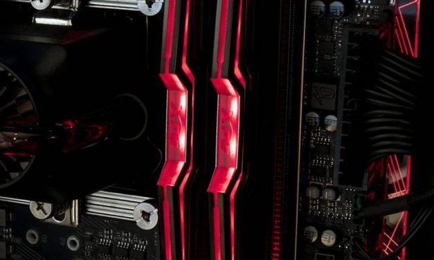 3000MHz of RGB LEDs, ADATA's XPG Spectrix D40 DDR4