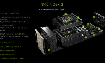 NVIDIA Announces DGX-2 with 16 GV100s & 8 100Gb NICs