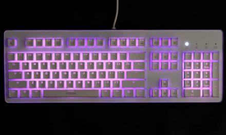 i-Rocks' K70E gaming keyboard, rocking those capacitive switches