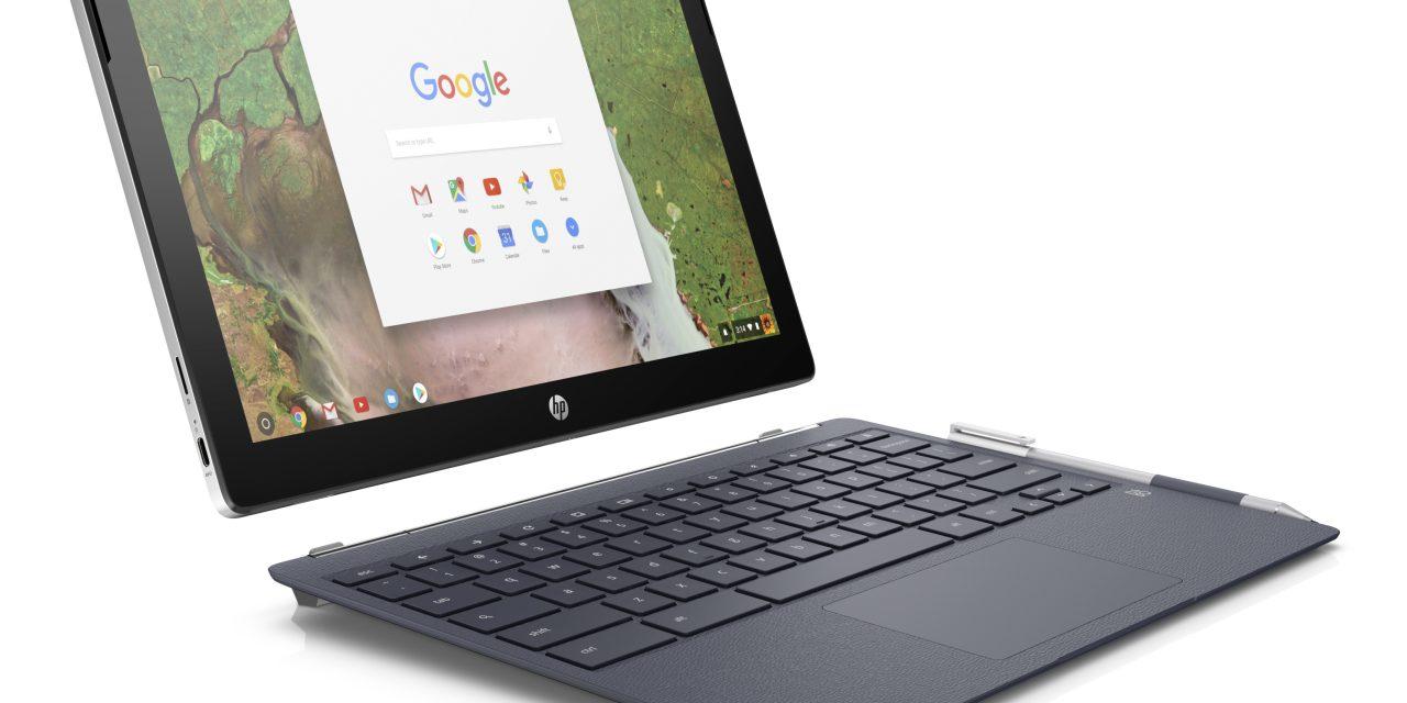 HP Announces Chromebook x2, World's First Detachable Chromebook