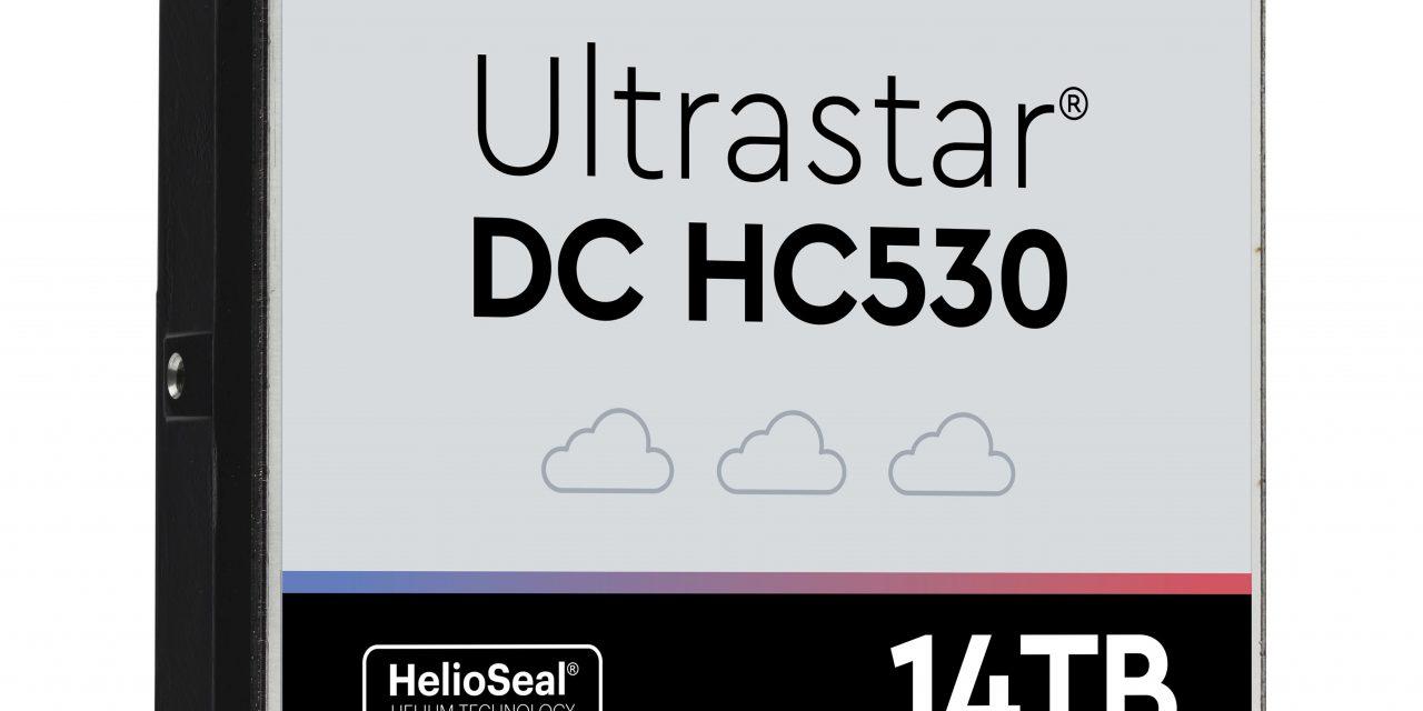 Western Digital Launches Ultrastar DC HC530 – TDMR 14TB HDD