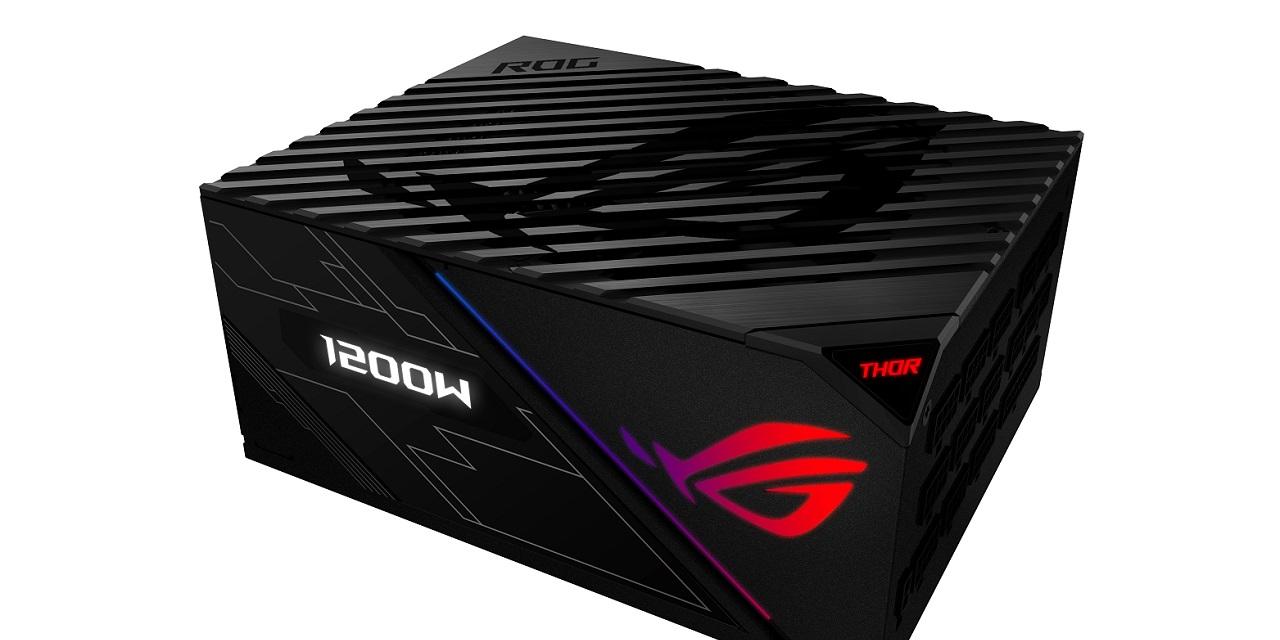 Computex 2018: ASUS ROG Thor 1200W Platinum PSU