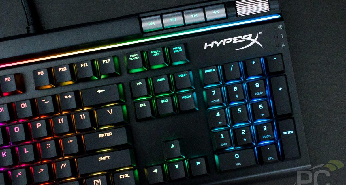 HyperX Alloy Elite RGB Mechanical Keyboard Review