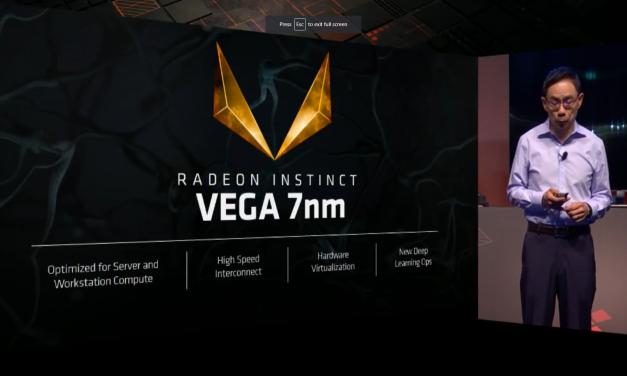 Computex 2018: AMD Shows off 7nm Vega Graphics