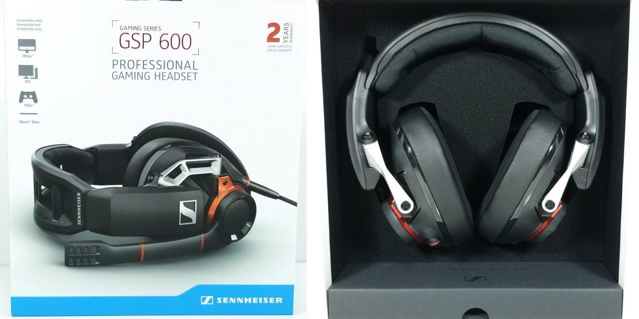Sennheiser GSP 600 Gaming Headset Review