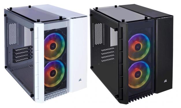 Corsair Introduces Crystal Series 280X RGB Micro-ATX Case