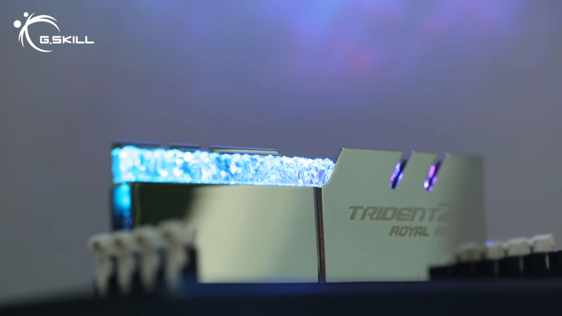 Computex 2018: G.Skill Teases Trident Z RGB Royal Memory