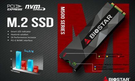Biostar Announces Budget M500 NVMe SSDs