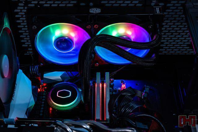 Cause a Disco Inferno with CM's MasterLiquid ML240R RGB