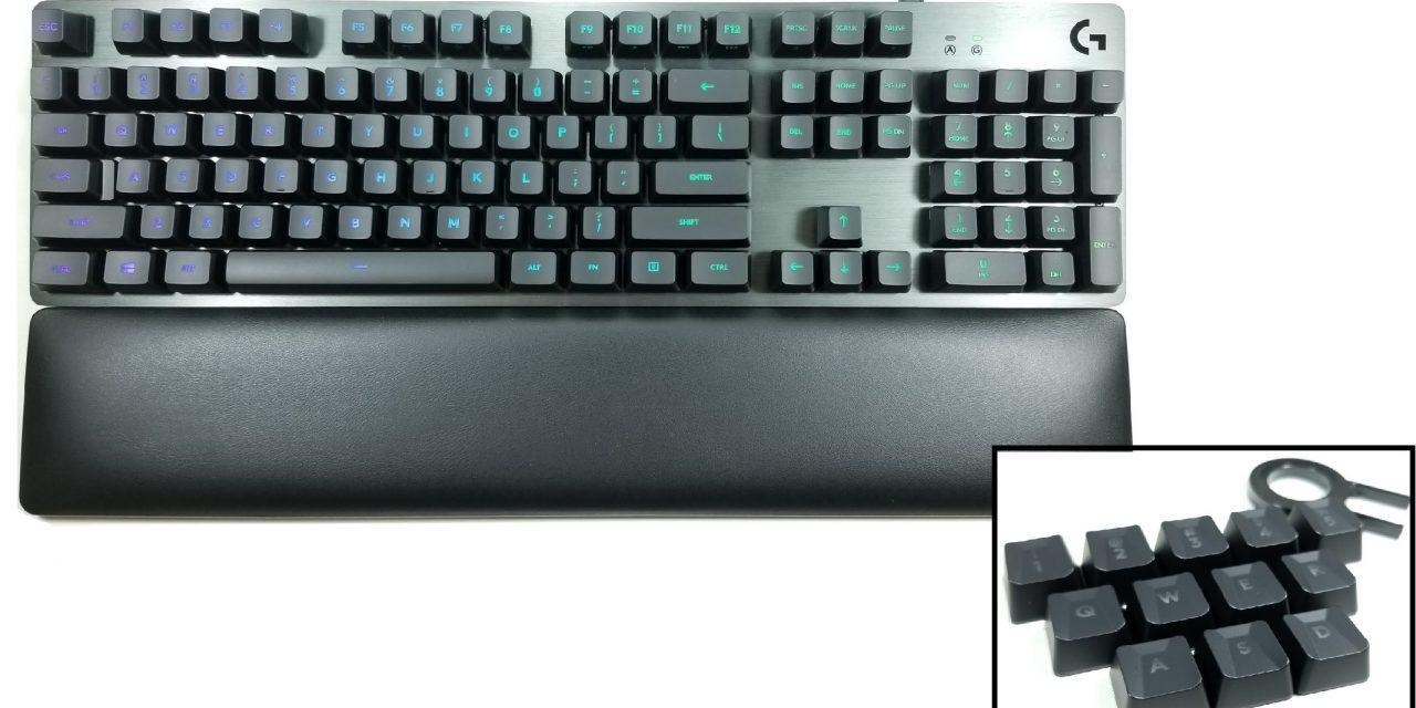 Logitech's new G512 Mechanical Gaming Keyboard and GX Blue key switch