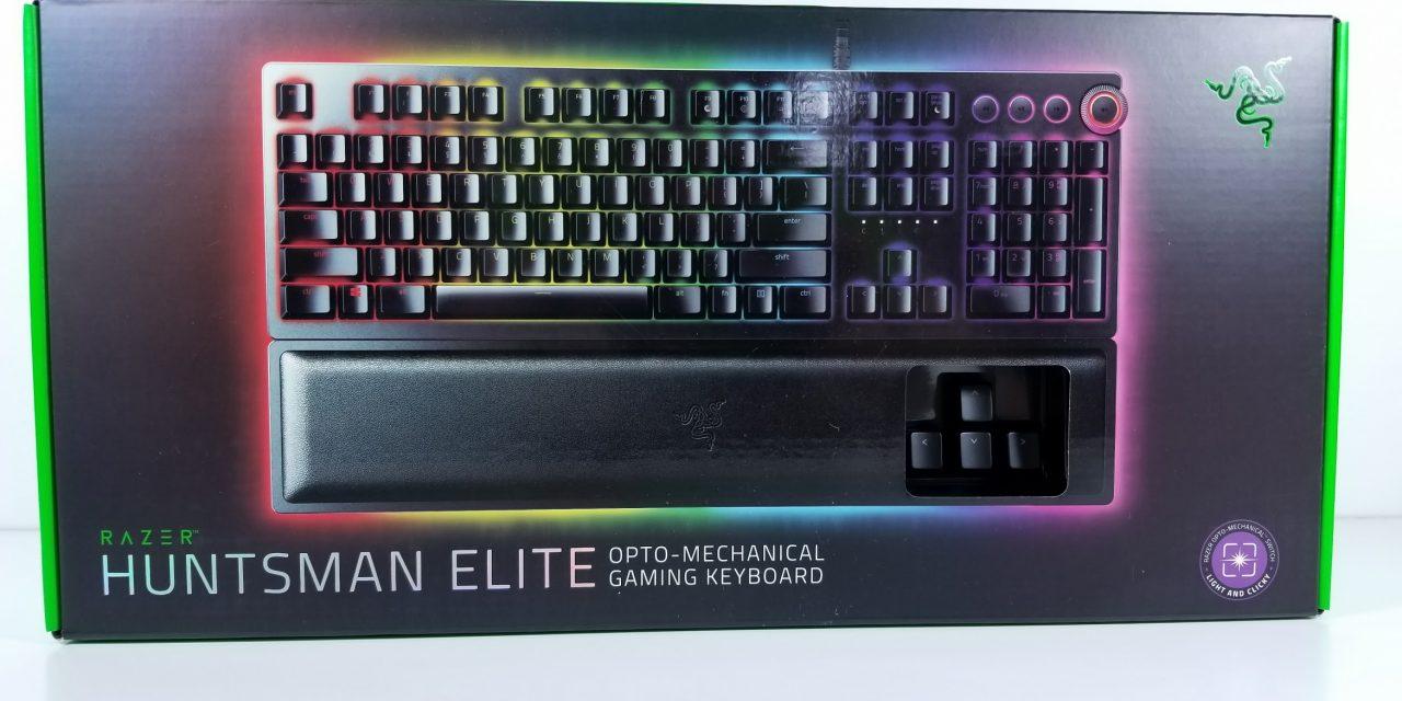 Razer Huntsman Elite Review: Razer's Optical Flagship Keyboard