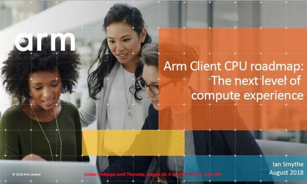 ARM Reveals First Public CPU Roadmap – Targeting Intel Performance
