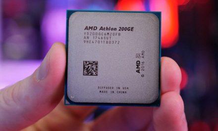 $55 of Athlon agility, the 200GE