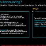 "ARM Unveils ""Neoverse"" Infrastructure"