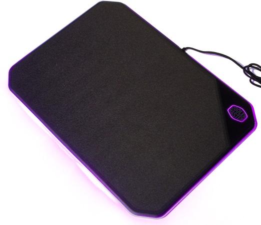Get RGB blinkenlichten on that mousepad!  Schnell Cooler Master, schnell!