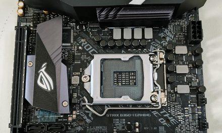 ASUS ROG STRIX B360-I Gaming, a small motherboard at a small price