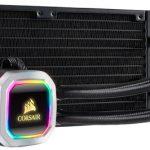 Corsair's H100i RGB Platinum; pump up the RGBs
