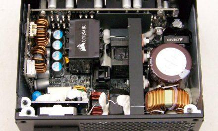Same, same; but different … Corsair's SFX SF600W PSU