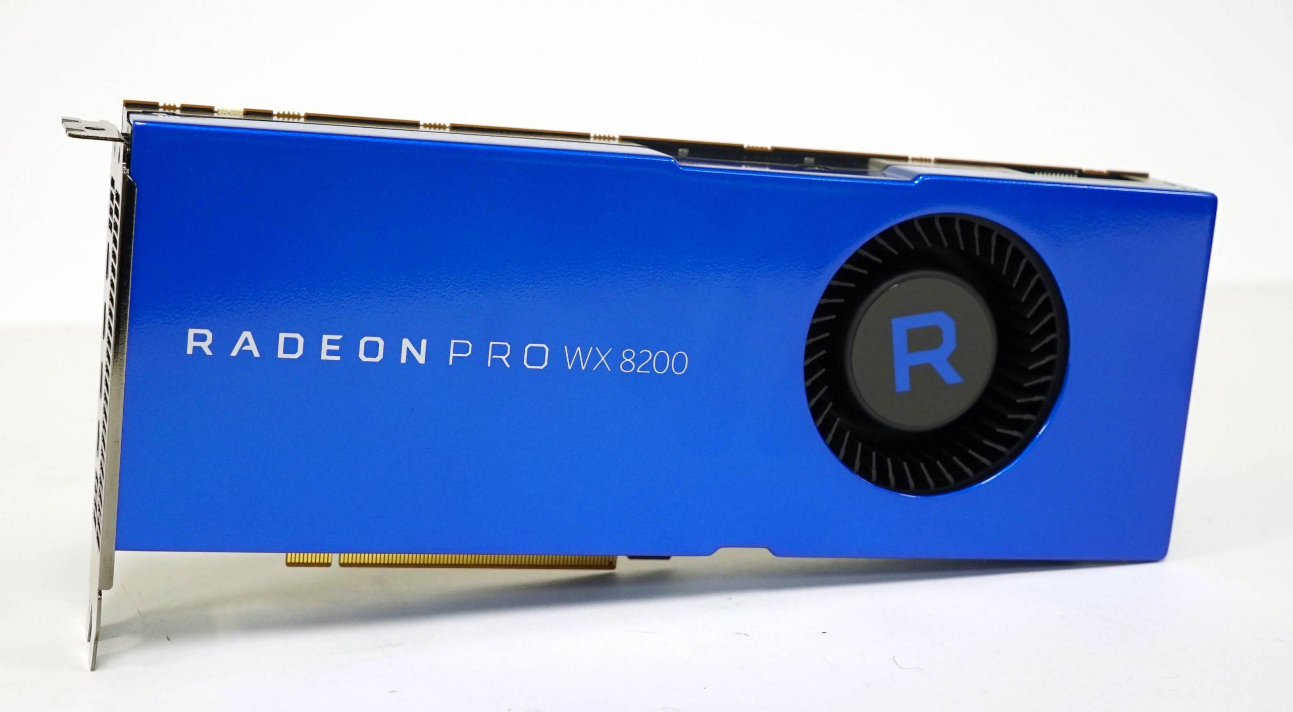 AMD Radeon Pro WX 8200 Review – Pro Vega