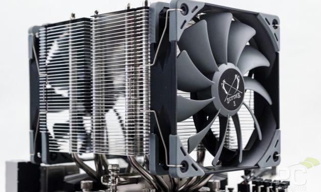 Scythe Ninja 5 SCNJ-5000 Tower Air CPU Cooler Review