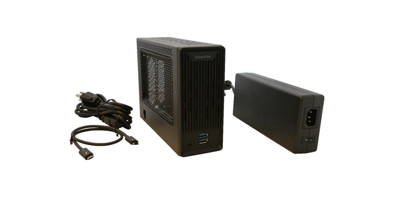 VisionTek Unveils Thunderbolt 3 Mini eGFX External Graphics Enclosure