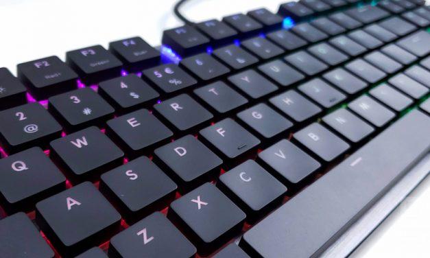 Cooler Master SK630 Low Profile Mechanical Gaming Keyboard Review