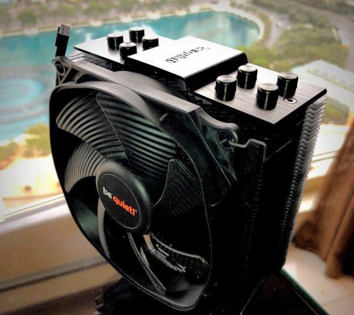 be quiet! Dark Rock Slim CPU Cooler, Shadow Wings 2 and Dark Wings 2